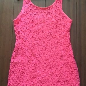NWT Jennifer Lopez Eyelet Dress Size 16